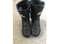 Alpinestars SMX-4 Mens Motorcycle Boots Size 10