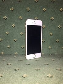 Used Apple iPhone 5s - 16gb - White and Gold - Free Next Day Delivery