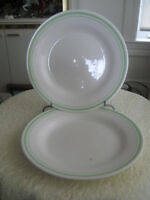 """PAIR of MATCHING """"OXFORD""""  LARGE 9-IN. SERVING BOWLS"""