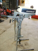 EVINRUDE 2 HP SHORT SHAFT OUTBOARD