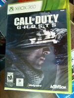 CALL OF DUTY GHOSTS FOR XBOX 360 BRAND NEW