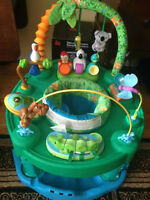 Evenflo Triple Fun Deluxe Jungle Activity Center Learning