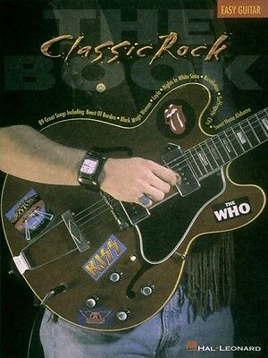 The Classic Rock Book Sheet Music Easy Guitar NEW 000698977 on Rummage