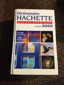 Hatchette French dictionary/encyclopedia