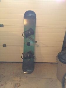Snow board & Bindings