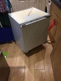 Indesit integrated fridge