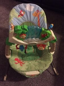 Fisher Price Rain Forest Vibrating Bouncy Chair London Ontario image 1