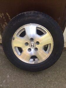 1 Honda Rim & Tire 205/65/R15