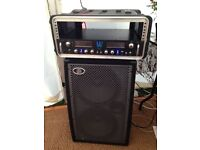 GREAT BASS AMP- warwick head, ampeg cab