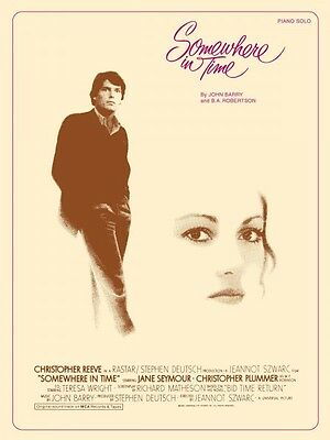 Somewhere in Time Sheet Music Piano Solo NEW John Barry 000122263