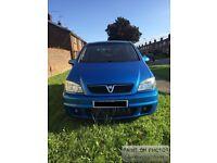 Vauxhall zafira gsi 2.0l turbo 250+bhp