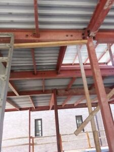 Construction welding, structural welding, posts by Welder