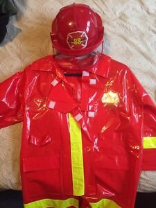 Youth fireman  costume