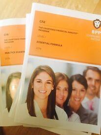 BPP CFA Level 1 2016 Study Materials
