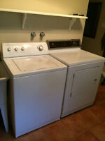 Whirlpool Washer $200 & Maytag Dryer $100 - Both run smoothly an