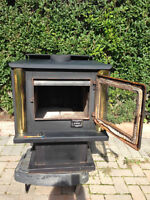 Wood burning stove and Chimney pipe