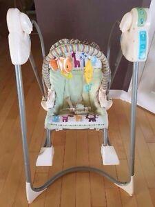 chaise berçante pour bébé fisher price