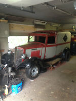 RARE 1936 International C1 Deluxe  panel truck PROJECT