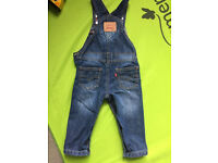 Levi's baby dungaree 12 months