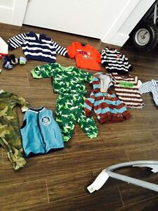 Baby items and boy clothing