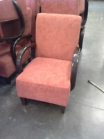 Vancouver ReStore - Red Upholstered Chair