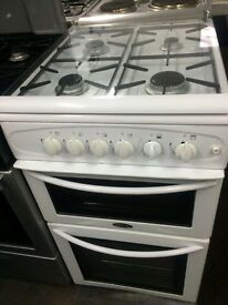 White belling 50cm gas cooker grill & oven good condition with guarantee