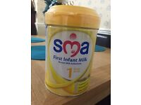 SMA first infant milk still sealed