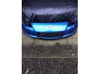 Mazda rx8 front bumper