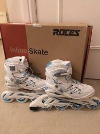 Women's Roces online skates UK5 White roller blades