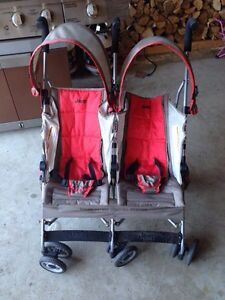Double jeep stroller