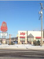 Building for sale in Hinton, AB. Price reduced.