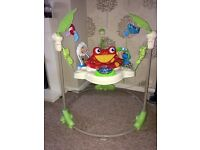 REDUCED Fisher price rainforest jumperoo