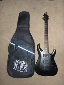 1 month old C-1 SGR by Schecter Electric guitar ESP gibson ibanez dean and Stag classical acoustic
