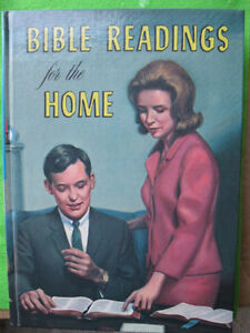 BIBLE READINGS FOR THE HOME, Hard Cover, with colorful pictures
