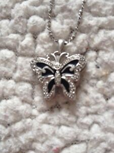 925 Silver butterfly necklace London Ontario image 1