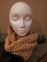 Hand made, one of a kind, Infinity Scarf