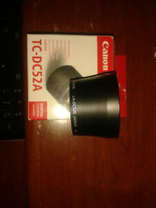 Canon Tele-Converter Lens with Adapter