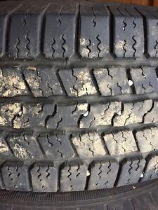 P265/70R17 M+S Tires on Rims Prince George British Columbia image 1