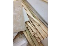 Plasterboard/timber 3x2 stud / drylineing
