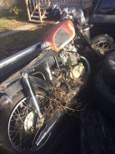 1968     Honda     CD125    Motorcycle  Regina Regina Area image 1
