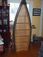 shelf decoy boat canoe