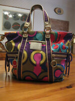 COACH POPPY LIMITED EDITION TOTE BAG - MULTICOLOURED