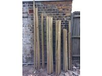 "Treated timber batten. Various lengths. Unused - clean timber. Size 37x20mm (11/2x3/4"")"