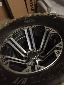 "26"" ITP Terracross mounted on SS rims!! Like new condition."