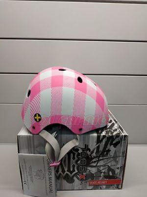 CASCO Bici Bicicletta Mtb BMX Freeride XCOOL Lumberjack Pink Rosa Tg. 54/58