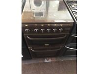 Brown cannon 50cm gas cooker grill & oven good condition with guarantee bargain