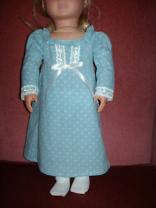 American Girl-Sized Doll Clothes: Blue Dress