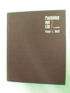 Psychology and Life - 7th Edition - Floyd L.Ruch - USED + gift