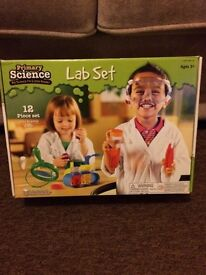 Childrens beginners science kit.