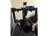 3 axis gimbal stabilizer for DSLR